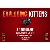 Exploding kittens kortspel (svensk)