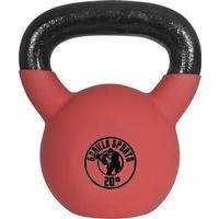 Gorilla Sports Rubber Coated Kettlebell 20kg
