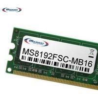 Memory Solution MS8192FSC-MB16 - PC / Server - Schwarz - Gold - Grün - Fujitsu-Siemens D3240-B (MS8192FSC-MB16)