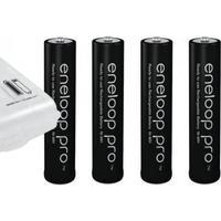 4 stk. AAA eneloop Pro Batterier 950 mAh (LR3 / N1500) fra Panasonic i æske