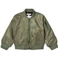 Kenzo Khaki Bomber Jacket with Tiger Logo 4 years