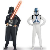 Vegaoo Star Wars VII Darth Vader dräkt barn