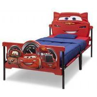 Delta Children Cars Plastic 3D Twin Bed