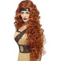 Smiffys Medieval Warrior Queen Wig