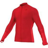 adidas adizero Track Jacket - Laufjacken für Herren - Rot