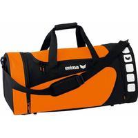 Erima Club 5 Sporttasche Größe S orange/schwarz