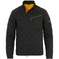 Barbour International Mass Quilted Jacket Black