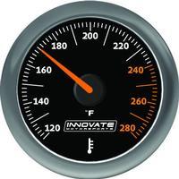 MTX-A: Temp.mätare Vätska (Olja, Vatten etc) Svart Mätarkit Innovate Motorsport