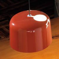 Add - en orange skinnende keramisk hængelampe