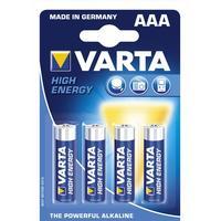 Varta AAA High Energy 4-pack
