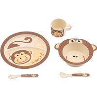 Virgeltech Bamboo Kids Tableware Monkey