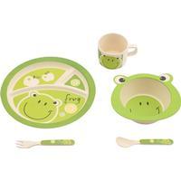 Virgeltech Bamboo Kids Tableware Frog