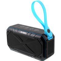 Vattentät Bluetooth högtalare - Svart/Blå