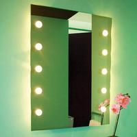 Top Light Belyst vægspejl DOTLIGHT