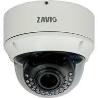 Zavio Dome-kamera, 2,8-12mm VF lins, 1080p, IP66, PoE, vit