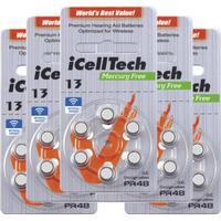 iCellTech iCellTech PR48/ZA13/DA13/V13 5-p Hörapparatsbatteri 52731687-5