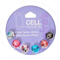 Claire's Paris Iphone Button Stickers