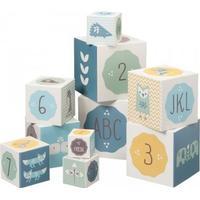 Fresk Stableklodser med tal og bogstaver