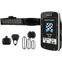 Garmin Edge 520 Bundle GPS Fahrradcomputer + Herzfrequenzsensor / Trittfrequenzsensor / Geschwindigkeitssensor