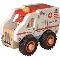 Egmont toys: Ambulance i træ