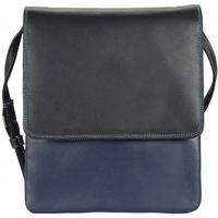 mywalit Mini N/S Organiser Handtasche Leder 21 cm black/pace