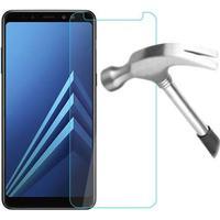 MTP Products Samsung Galaxy A8 (2018) Panserglas - 9H - Krystalklar