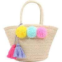 GAP POM TOTE BAG Handväska natural One Size
