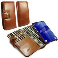 Alston Craig Samsung Galaxy S8+ Alston Craig Fullstort Läder Fodral - Brun