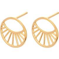 Pernille Corydon Daylight Silver Gold Plated Earrings (e-572-gp)