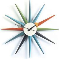 Vitra - Paustian - designklassikere fra førende arkitekter Vita Sunburst Clock i multifarvet