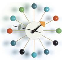 Vitra - Paustian - designklassikere fra førende arkitekter Vita Ball Clock i Multifarvet