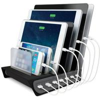 Naztech Quick Charge Opladestand - 7 indgange
