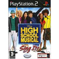 High School Musical Sing It! - Playstation 2 (brugt)