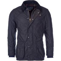 Barbour Digby Wax Jacket - Navy