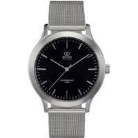 BOOM Watches Minne armbåndsur, sort urskive, mesh metallisk rem