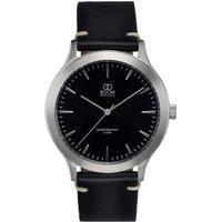 BOOM Watches Minne armbåndsur, sort urskive, sort rem