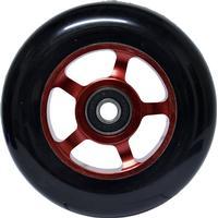 JD Bug Reservhjul 100mm, svart/röd