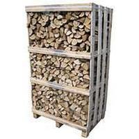 Greenwood Pejsebrænde blandet løv 1,8m3 85x120x200cm lufttørret brænde