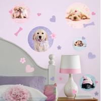 RoomMates - Wallstickers Puppy Spots