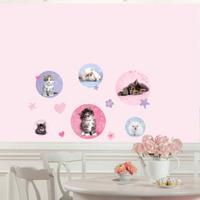 RoomMates - Wallstickers Kattekillinger