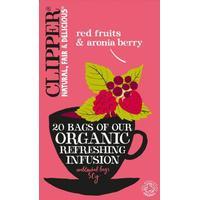 Clipper Røde bær & Aronia bær Te Øko. - 20 breve