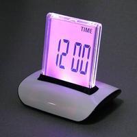 Digital Väckarklocka - 7 färgers LCD