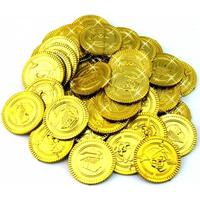 chokolade guldmønter