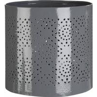 Premier Houseware Complements Small Hurricane Candle Holder - Grey