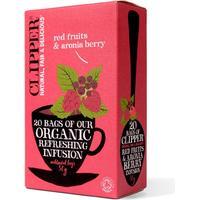 Clipper Te med Røde bær & Aronia bær Ø (20 breve)