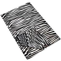 Silkespapper 50x50 cm - zebra 4 st