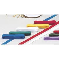 NORDIC Brands Bomullsband, mjukt, hållbart, 5 m x 13 mm, röd