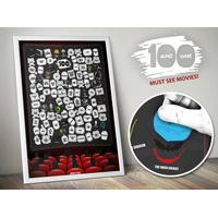 101 Movies Scratch Poster