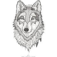 Kunstprint - Ulven