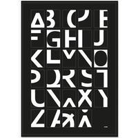 Plakat - Alphabet - Sort